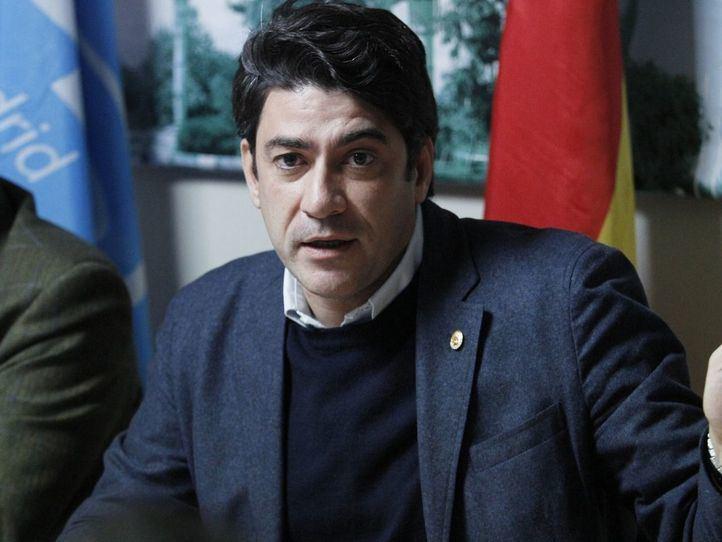 El alcalde de Alcorcón, David Pérez.