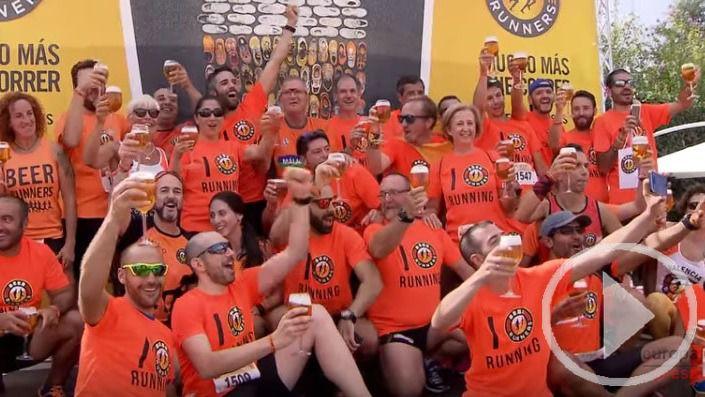 Una caña después de correr: la filosofía de Beer Runners