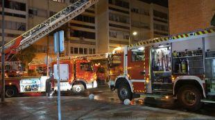 Incendio en Parla: arde un bloque de pisos dejando 16 heridos