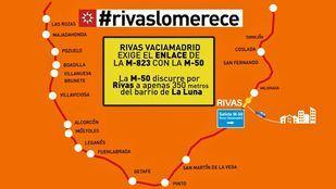 Rivas reitera, en un vídeo, la necesidad de conexión con la M-50