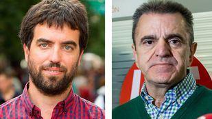 Franco y Hugo Martínez, en los micrófonos de Onda Madrid