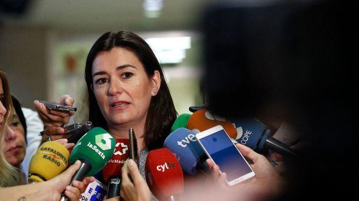 La ministra de Sanidad, Consumo y Bienestar Social, Carmen Montón.