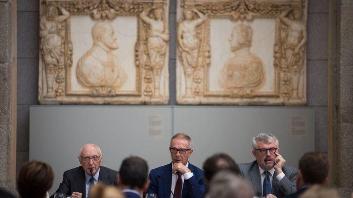 El acto, ha contado con las intervenciones del ministro de Cultura y Deporte, José Guirao, el presidente del Real Patronato del Museo del Prado, José Pedro Pérez-Llorca, y del director del Museo del Prado, Miguel Falomir.