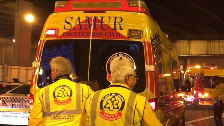 Foto de archivo de sanitarios del Samur