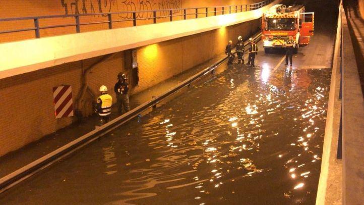 Inundaciones por las fuertes tormentas en la región