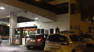 La gasolinera donde acudió uno de los heridos por arma blanca.