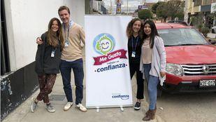 Los becados DIME en Perú han conocido cómo funcionan allí las microfinanzas.