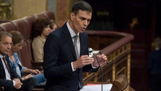 Pedro Sánchez, en el Congreso, en una imagen de archivo.