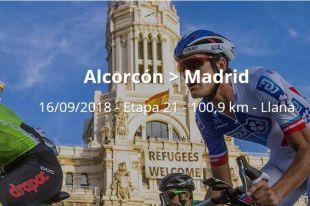 Consulte los cortes de tráfico de hoy por la Vuelta Ciclista