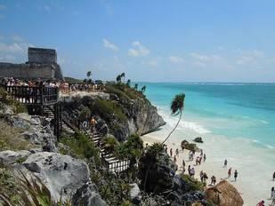 Viajar con niños a la Riviera Maya