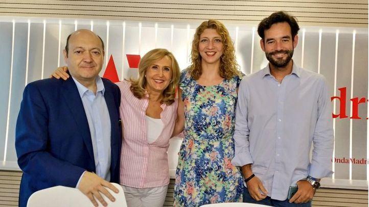 Nuria Platón y Juan José Mateo, en Com.Permiso.