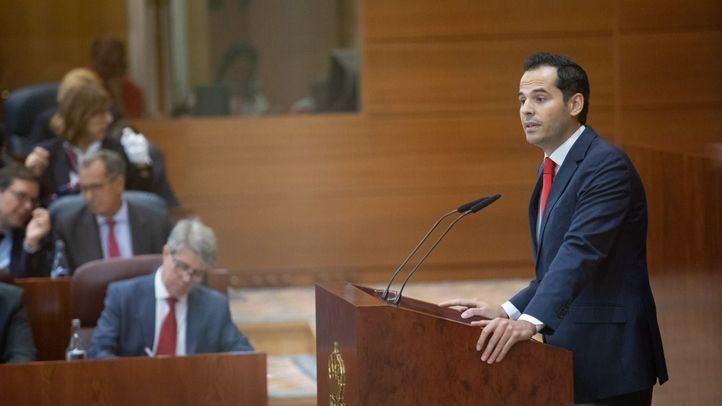 El portavoz de Cs en la Asamblea interviene en el Debate del Estado de la Región.