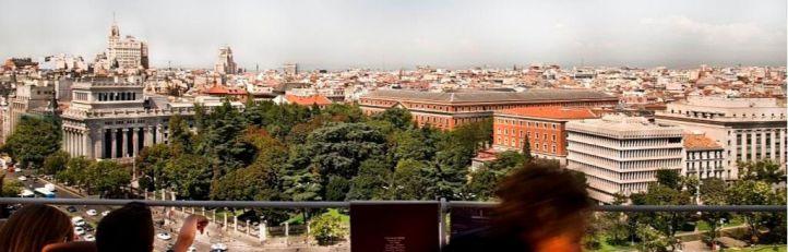 El mirador de CentroCentro reabre tras siete meses de obras
