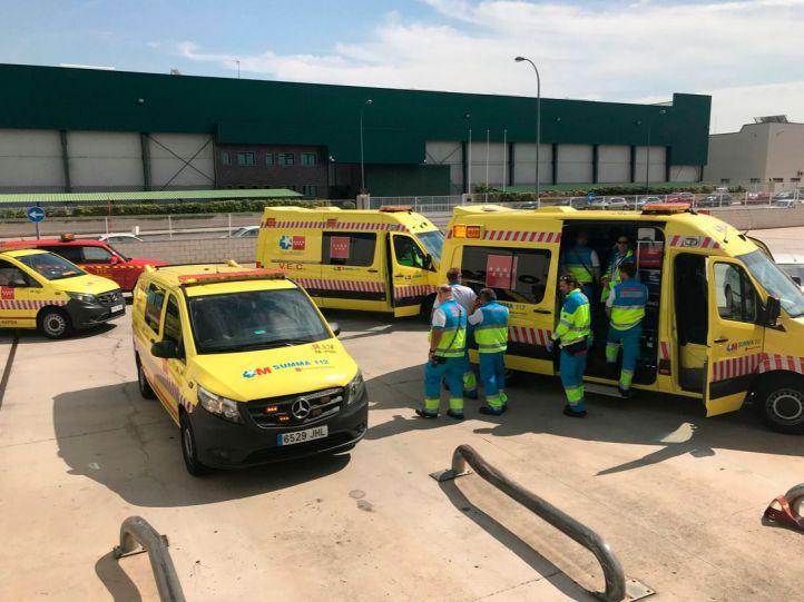 Dos accidentes laborales dejan un muerto y un herido
