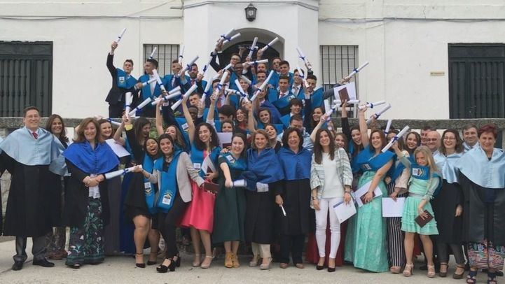 Graduación en Casvi International American School de Tres Cantos
