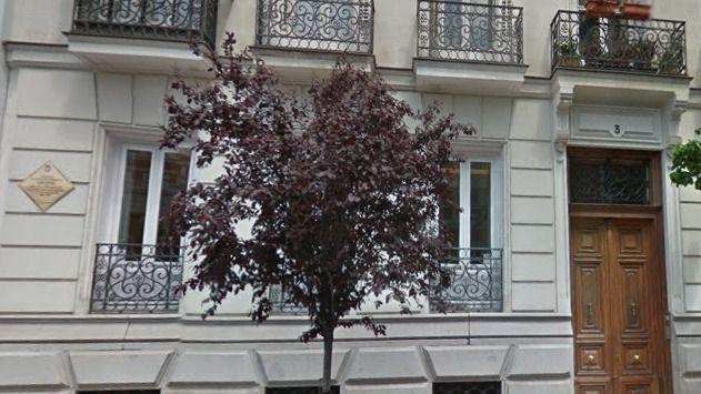 Casa de Antonio Díaz Cañabate en Madrid.