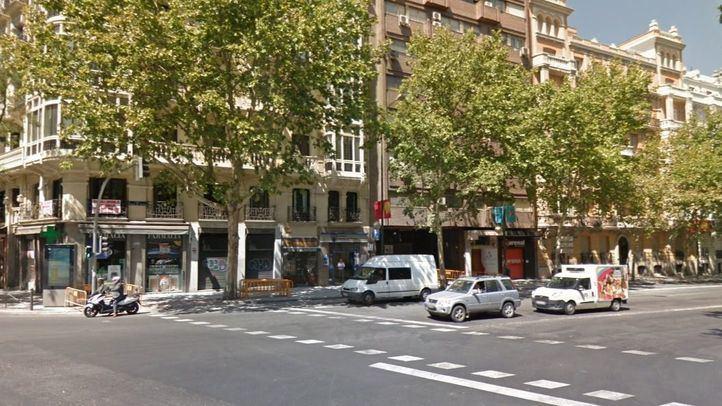 Cruce de Príncipe de Vergara con la Calle Alcalá.