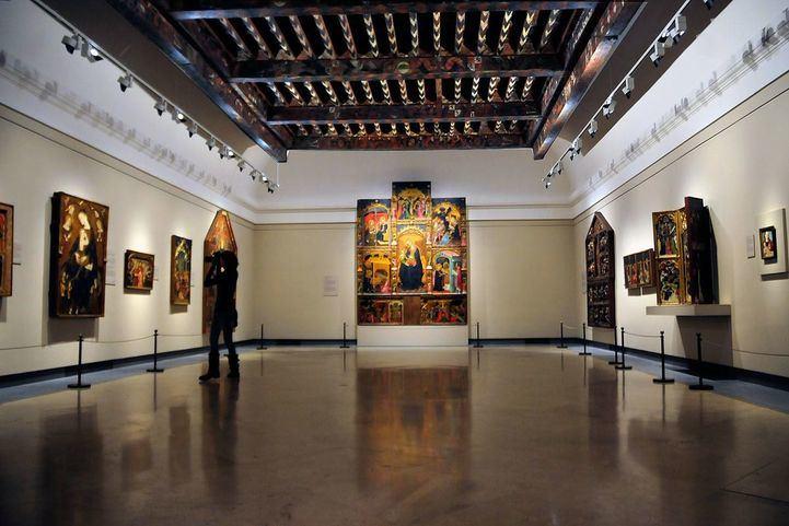 Museo del Prado, sala de la Donación Vázquez-Fisa Reportaje edificio museo del prado