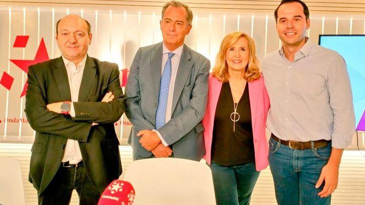 Enrique Ossorio e Ignacio Aguado en Com.Permiso