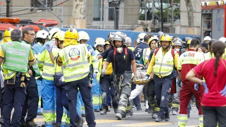 No se teme por la vida de los dos heridos más graves del derrumbe en el Ritz