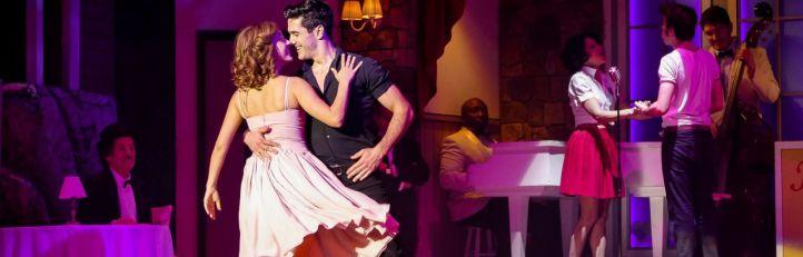 Una de las escenas del musical 'Dirty Dancing'.
