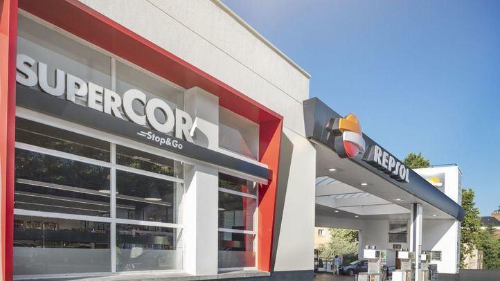 Tienda Supercor Stop&Go en las estaciones de servicio de Repsol