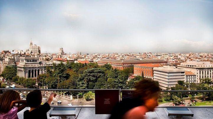 Mirador Madrid en CentroCentro