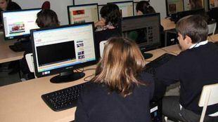 Clase de Informática en Casvi