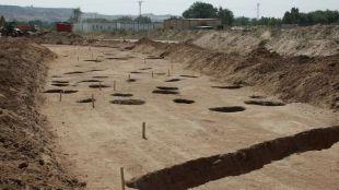 Restos arqueológicos descubiertos en el distrito de Barajas.