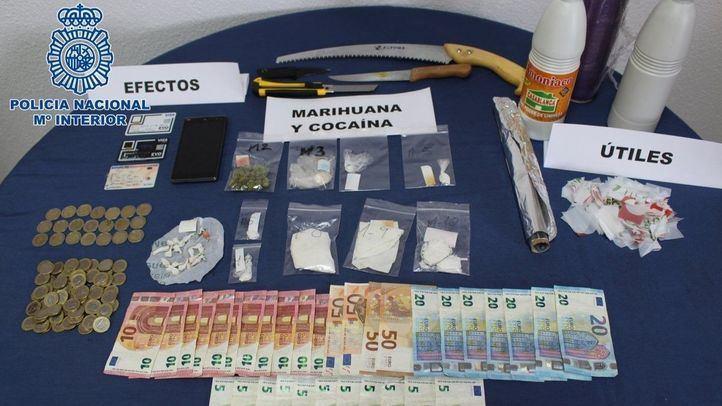 Golpe policial en dos narcopisos de Lavapiés