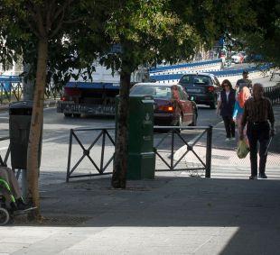 Dos tramos del Paseo de Extremadura, peatonales este sábado