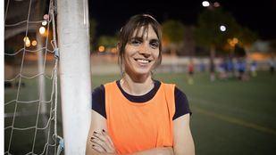 Alba Palacios, jugadora del Las Rozas C.F.