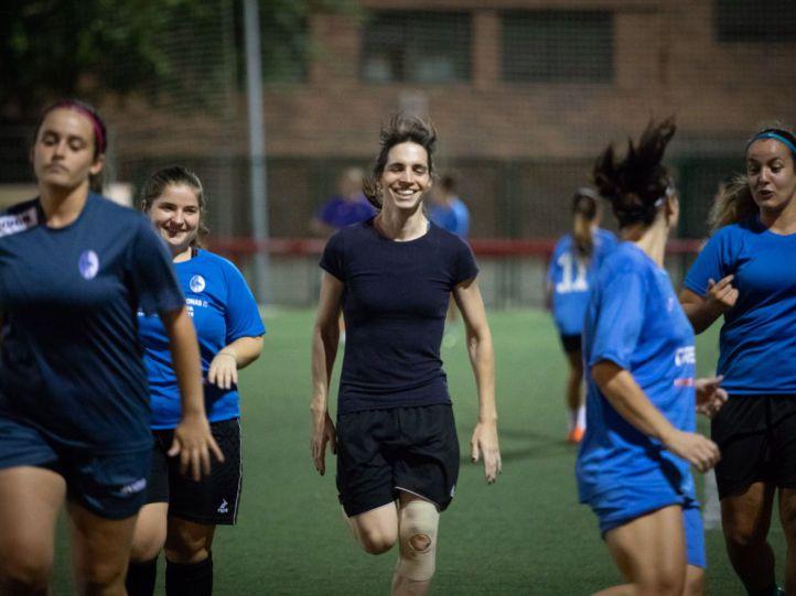 Alba Palacios: 'La gente cree que entras al campo y eres como un chico jugando'