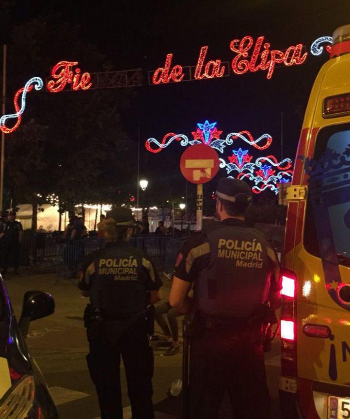 El Summa ha atendido a 28 personas en las fiestas de La Elipa.