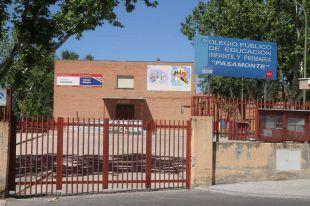 Colegio Pasamonte en Moratalaz.