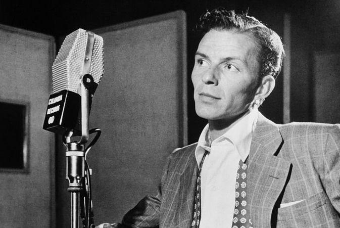 El cantante Frank Sinatra, conocido como 'La Voz', en 1947.