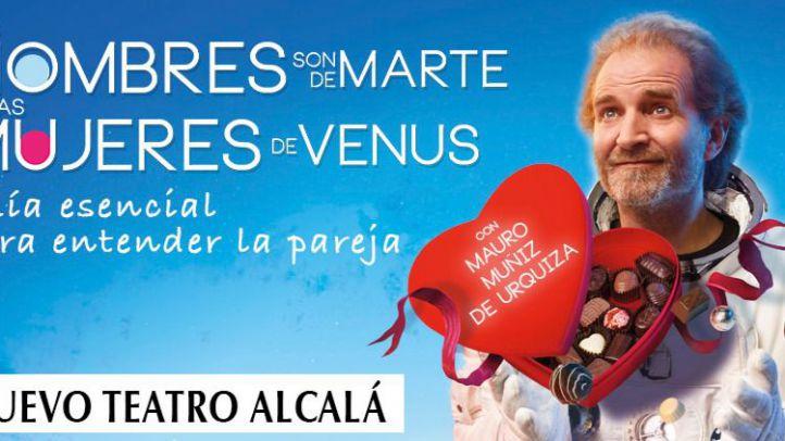 ¿Quiere una entrada para Los Hombres son de Marte y las mujeres de Venus?
