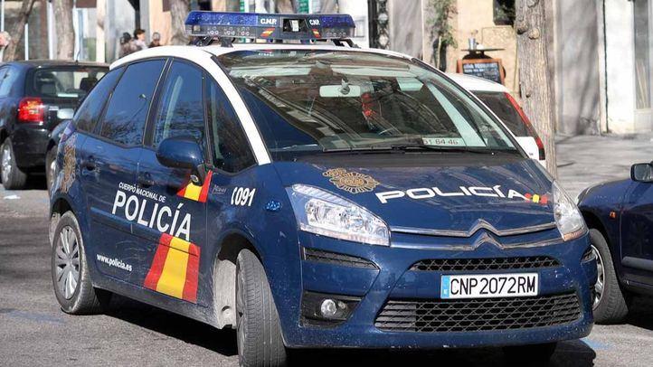 Coche patrulla de la Policía Nacional, en una imagen de archivo.