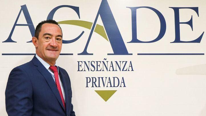 Juan Santiago, nuevo presidente de la Asociación de Centros Autónomos de Enseñanza Privada.