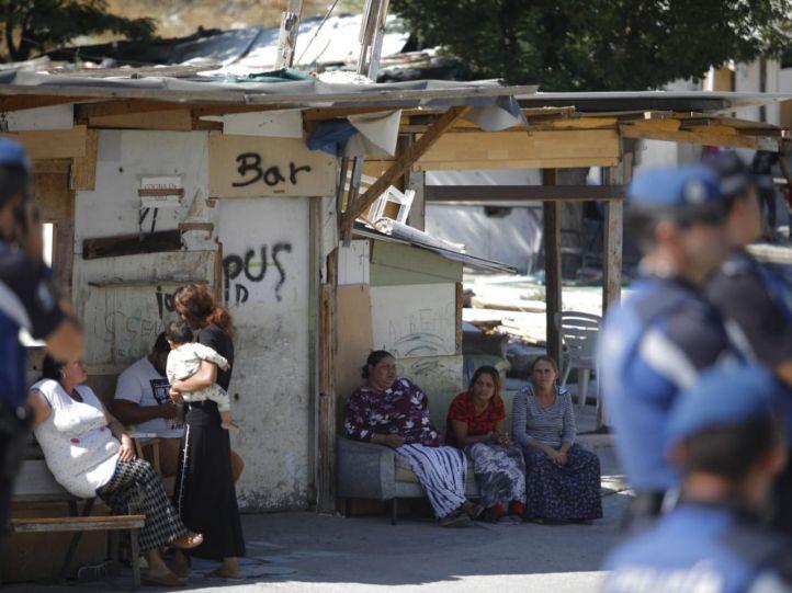 El desalojo de El Gallinero: adiós a 20 años entre chabolas