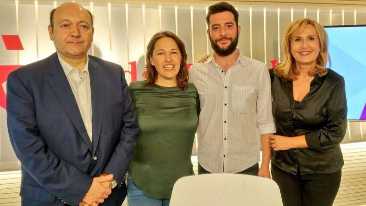 Zafra y Espinosa debaten sobre la presentación de Carmena en el Debate