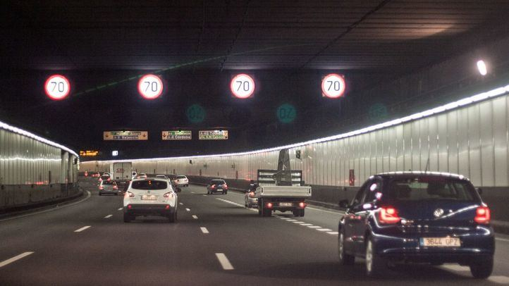 Una avería obliga a cerrar el túnel de Ríos Rosas
