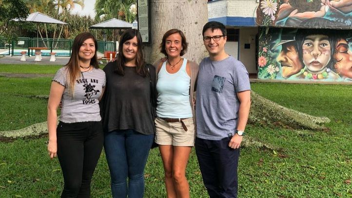 De la mano de Ayuda en Acción, cuatro empleados de Sacyr han participado este verano en un voluntariado en Colombia para garantizar el acceso a agua potable en zonas rurales.