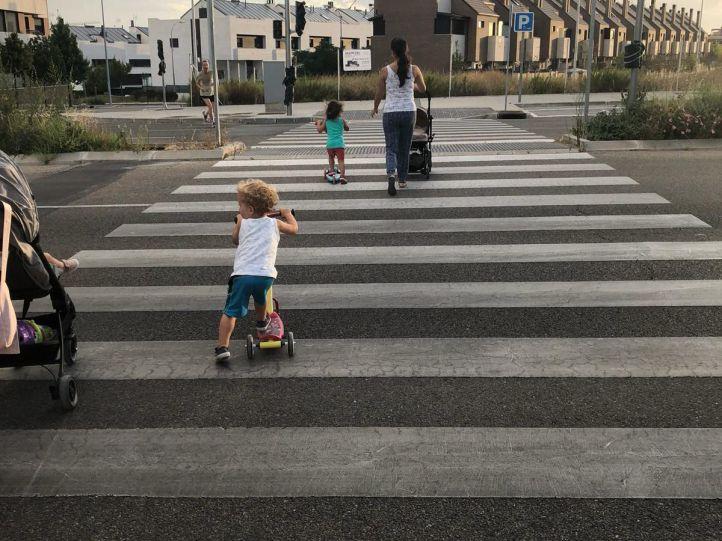 La seguridad vial en Valdebebas preocupa a los vecinos