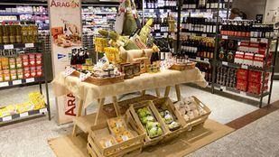 Los alimentos de Aragón, en El Corte Inglés e Hipercor