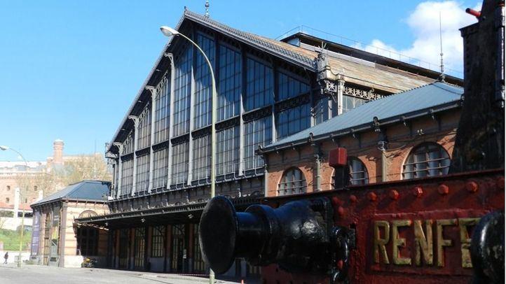 Museo del Ferrocarril, antigua estación de Delicias.