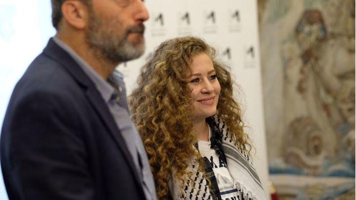 Ahed Tamimi, activista palestina.