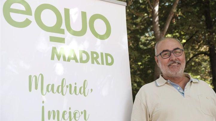 Alejandro Sánchez, cabeza de lista de EQUO para las elecciones autonómicas