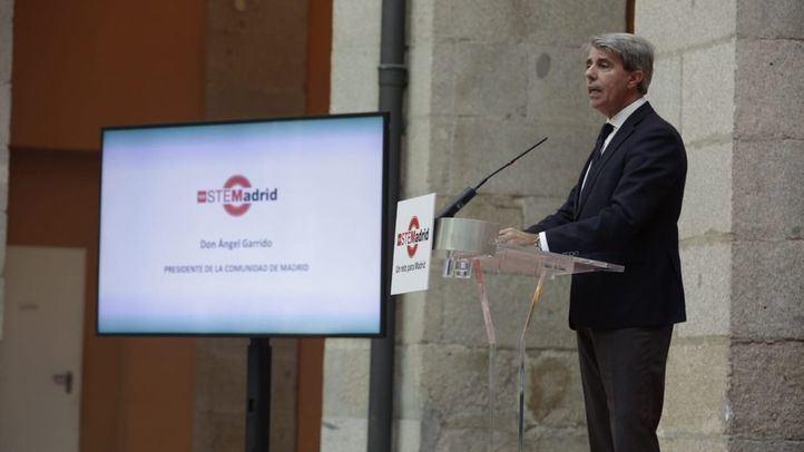 Ángel Garrido anuncia el Plan STEMadrid.