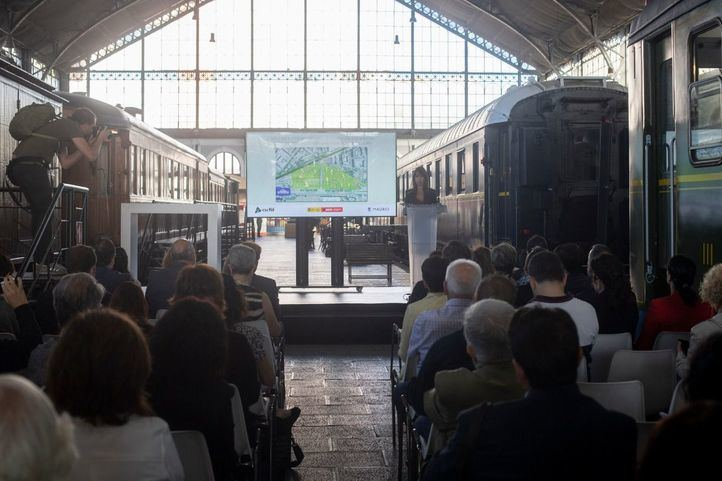 La antigua estación de Delicias será la sede de la CND y el Ballet Nacional